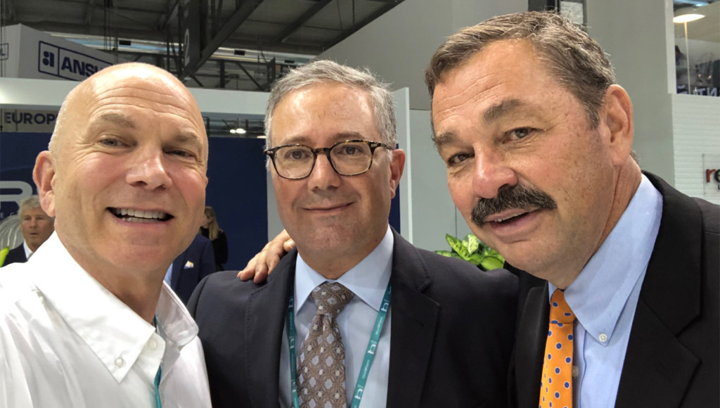 Specifi's Andy Friedman, FER Publisher Randy Hano, Middleby COO Dave Brewer