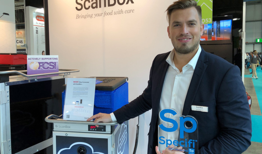 Jens Borgqvist from ScanBox