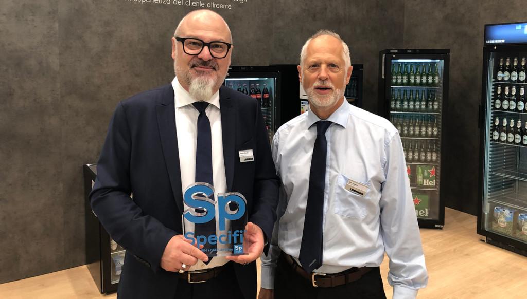 Nick Cooper & Martin Zehnder from Liebherr