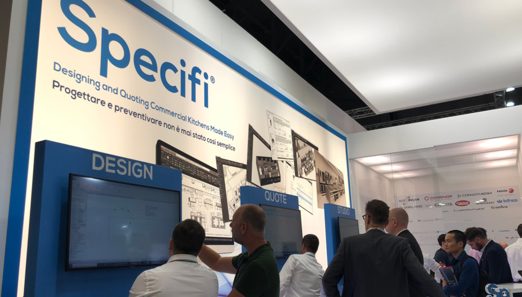 Specifi Stand drew lots of attention
