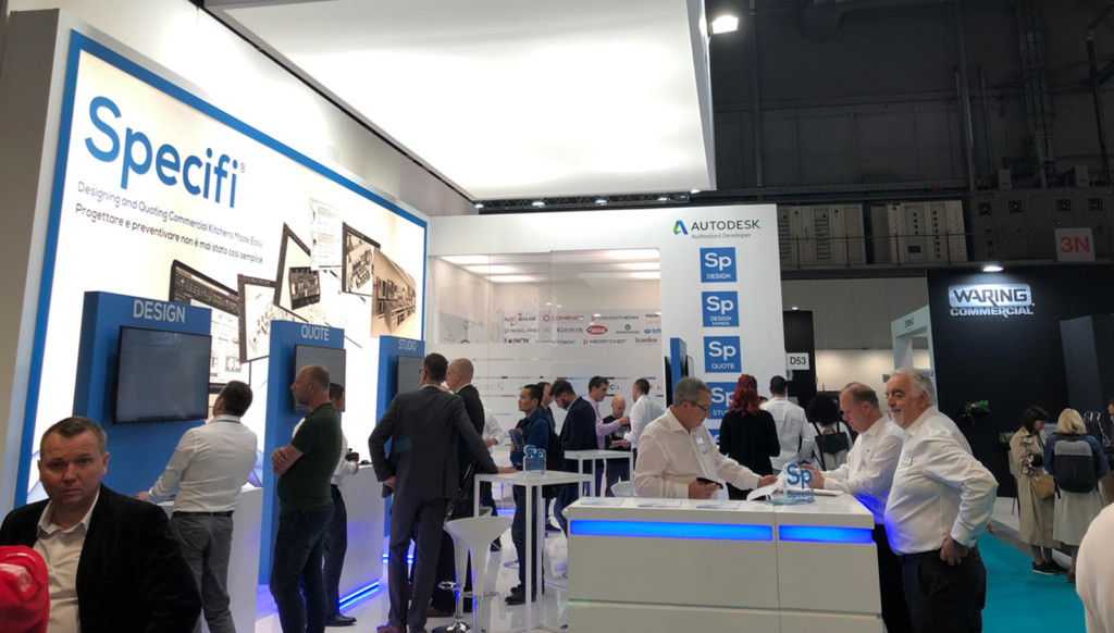 Great conversations at the Specifi Stand