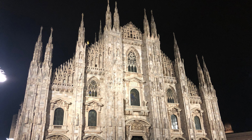 Milan's famous Duomo cathedral